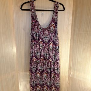 Banana Republic paisley casual dress.  Medium